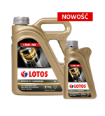 Lotos Synthetic Turbodiesel 5W-40 4L + 1L