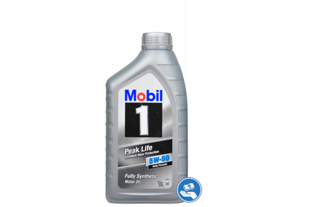 Mobil 1 Peak Life 5W-50 (Excellent Wear Protection) 1L